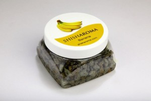 Banános vízipipa kő